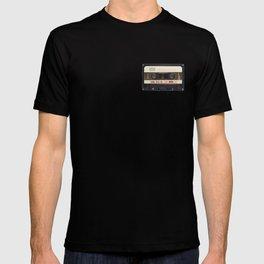 Retro 80's objects - Compact Cassette T-shirt