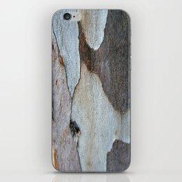 Peeling Bark Of A Eucalyptus Gum Tree iPhone Skin