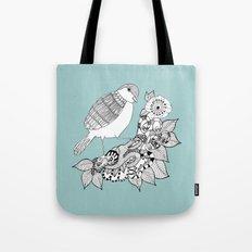 Bird II Tote Bag