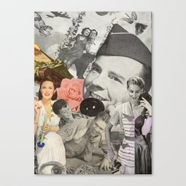 Married to War Canvas Print