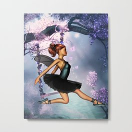 The Ballet Metal Print