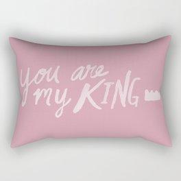 You Are My King x Rose Rectangular Pillow