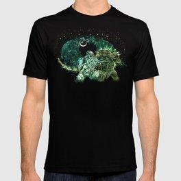 Cthulhu vs Godzilla T-shirt