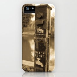 Water Point iPhone Case