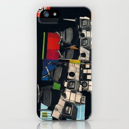 Control Panel 75 iPhone Case