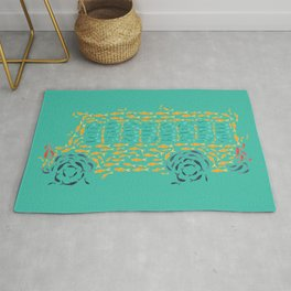School of Fish Rug