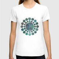 marianna T-shirts featuring Floral Abstract 4 by Klara Acel