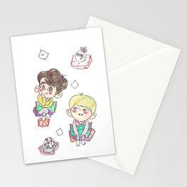 Minho & Onew Stationery Cards