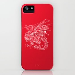 dragon 3 iPhone Case