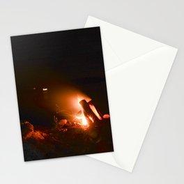 Campfire. Stationery Cards
