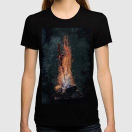 A bonefire T-shirt