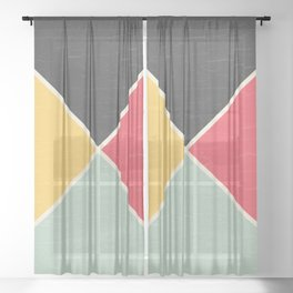 Quarters Sheer Curtain
