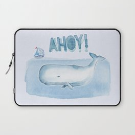 Ahoy! from a Sperm Whale Laptop Sleeve