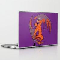 diablo Laptop & iPad Skins featuring Garita del Diablo by Sanfeliu