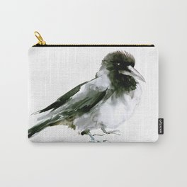 Crow, hooded crow art design Carry-All Pouch