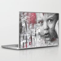 toddler Laptop & iPad Skins featuring Hero Sessions III by HappyMelvin