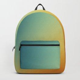 Gradient Colours: Orange Blue Backpack