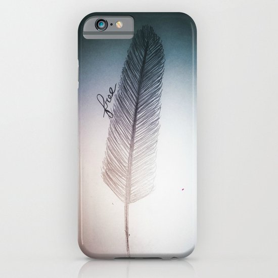 Free (design 2) iPhone & iPod Case