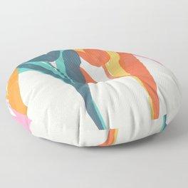 tulips 2 h Floor Pillow