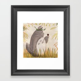 Silent Guardian Framed Art Print
