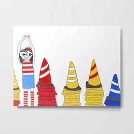 Where's Waldo Metal Print