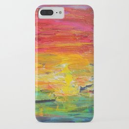 Ombre Rainbow Sunset iPhone Case