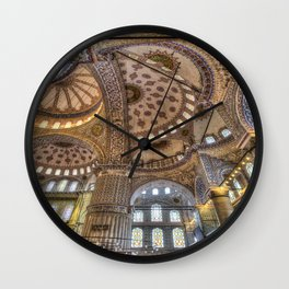 Blue Mosque Architecture Wall Clock