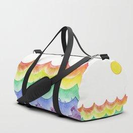 Rainbow Sea Duffle Bag