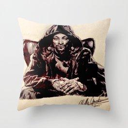 Snoop Doggy Dogg Throw Pillow