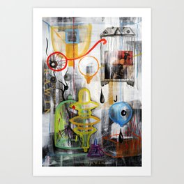 DRAWING PAD Art Print