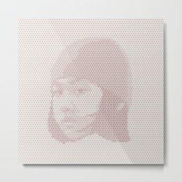 Tessellated Portraits - C.A. Metal Print