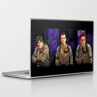 ghostbusters Laptop & iPad Skins featuring Ghostbusters by Ryan Ketley