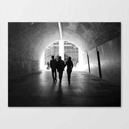 Tunnel Visions Canvas Print