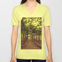 Lemon Grove in Ravello, Italy Unisex V-Neck