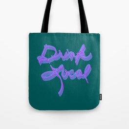 Drink Local (80's Inspired) Tote Bag