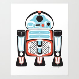 Silver Tenderfoot - Alliance Is Rebellion - R2-D2, wars, star Art Print