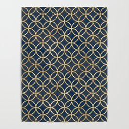 The Geometric Abstract Pattern Poster