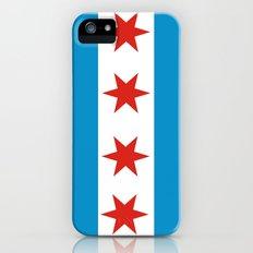 chicago flag iPhone SE Slim Case