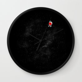Love Space Wall Clock