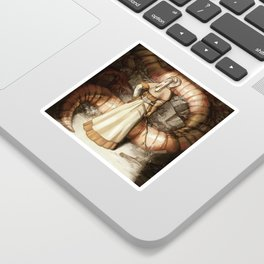 The Midwife and the Lindworm - Title Version Sticker