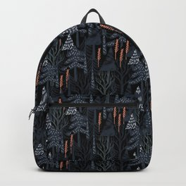 fairytale forest pattern Backpack