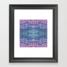 BODY OF WATER Framed Art Print