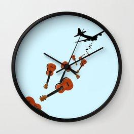 Uke Em Wall Clock
