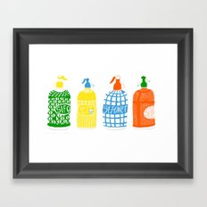 Barcelona vermouth Framed Art Print