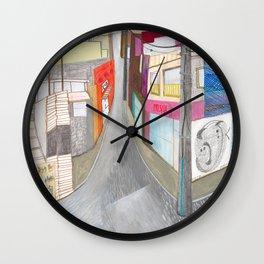 Nisja: tokyo 1 Wall Clock
