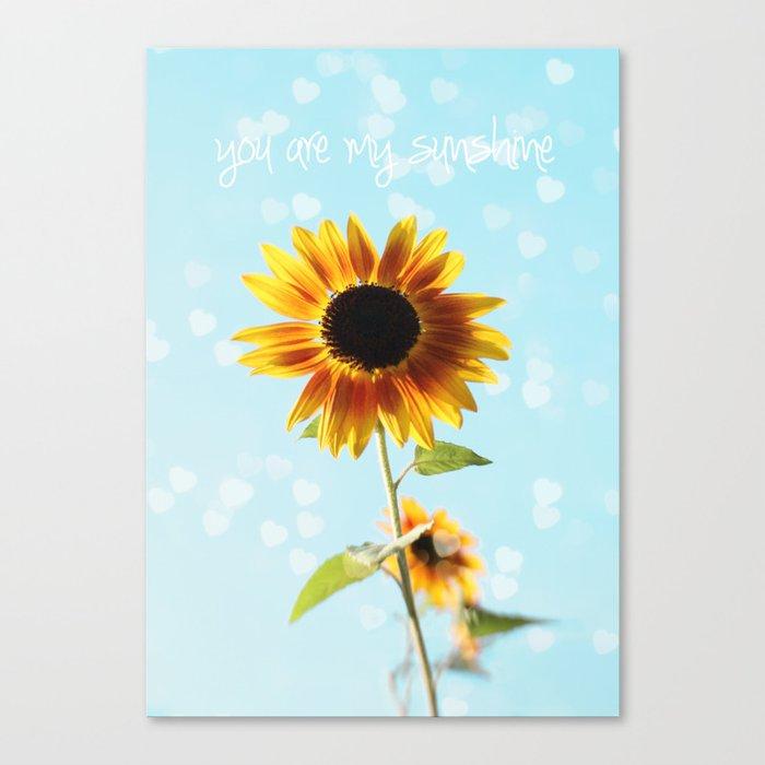 you are my sunshine Leinwanddruck