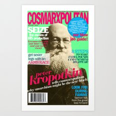 COSMARXPOLITAN, Issue 6 Art Print