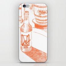 duff vs. mahou iPhone & iPod Skin
