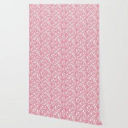 Candy cane flower pattern 6 Wallpaper
