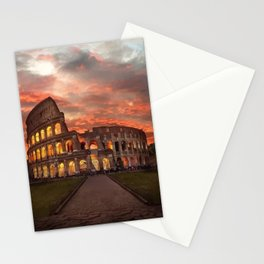Colosseum - Rome  Stationery Cards